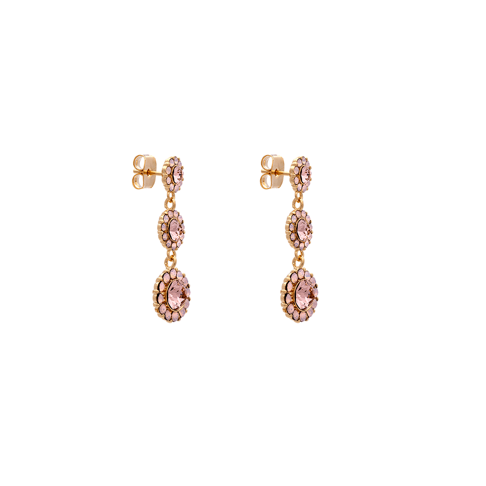 Bilde av Petite Sienna earrings – Vintage rose opal